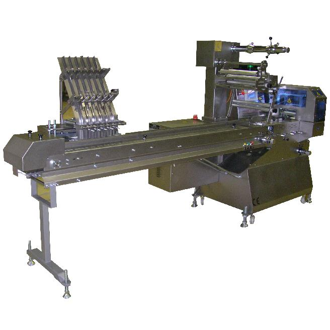 OPMS 1003 STAINLESS STEEL WITH DOUBLE SERVO CHARGER FEEDING MOTION CONTROL PACKAGING MACHINE