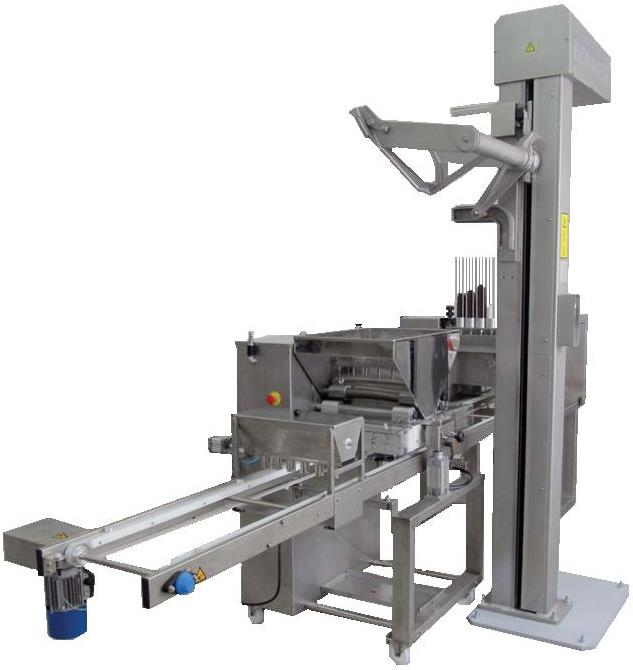 LIGNE AUTOMATIC  FOR MUFFINS AND CUP-CAKES CAPACITY 5.600 - 7.000 UNIT HOUR