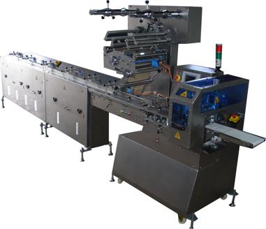 ORS 1023 WITH 5 SERVO MOTION CONTROL PARALLEL AUTOMATIC FEEDING PACKAGING MACHINE