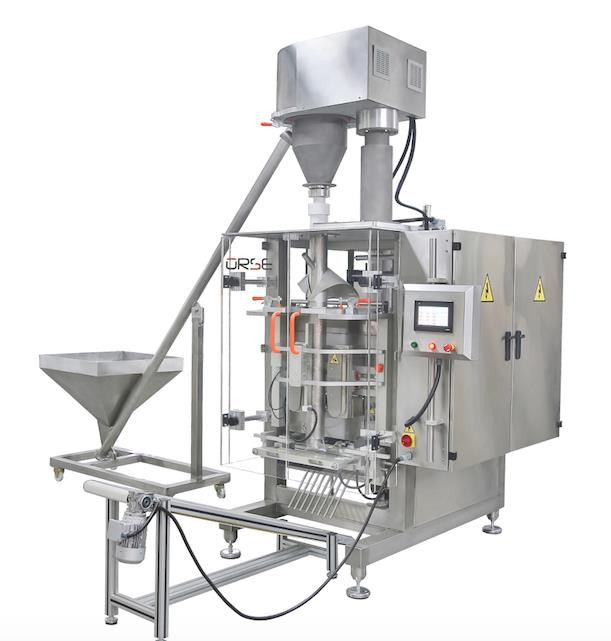 BSC-Q 2023 MACHINE DE QUATRO ENSACHEUSE VERTICAL AUTOMATIQUE + SYSTEM DOSAGE A VIS (20-1000 gr.)