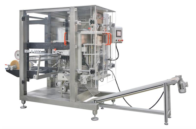 BSC-D 2023 MACHINE DE ENSACHEUSE VERTICAL AUTOMATIQUE + SYSTEM DOSAGE A VIS (20-1000 gr.)
