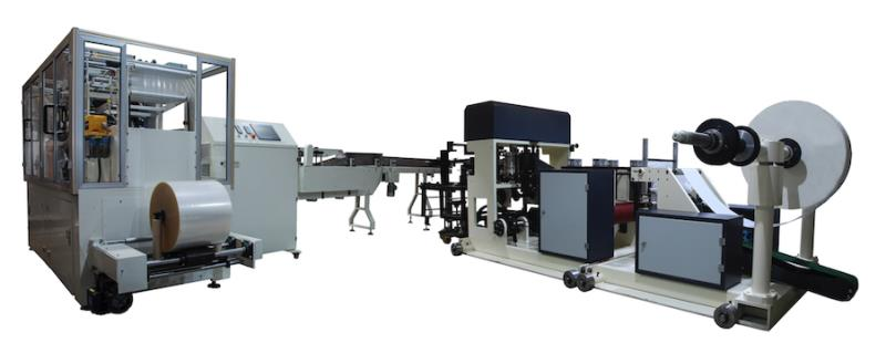 FULL AUTOMATIC NAPKIN FOLDER WITH AUTO TRANSFER AND PACKING LINE