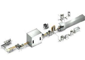 AWBO-80/500 AUTOMATIC WAFER PRODUCTION LINE 80 PLATES 350x500mm