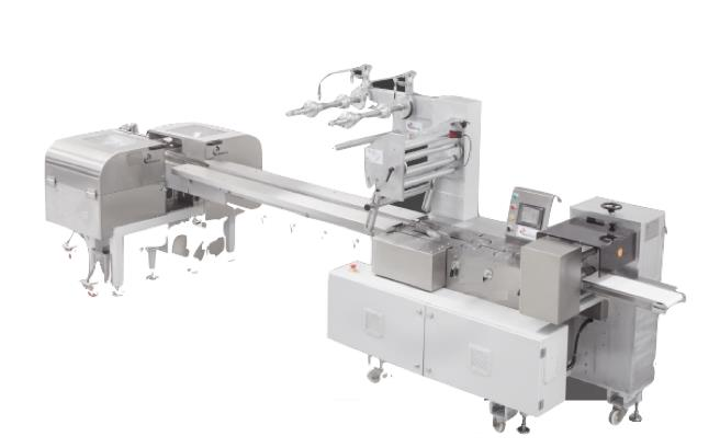 SFW-MF HORIZONTAL PACKING MACHINE WITH FORK FEEDING SYSTEM