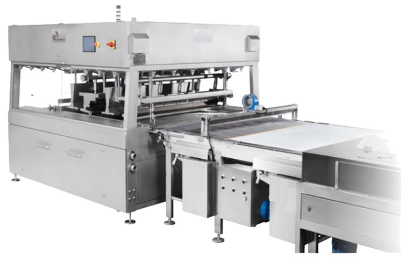 CEM-1000 LINE COMPLETE ENROBING CHOCOLATE WITH CHOCOLATE PRODUCTION PLANTS